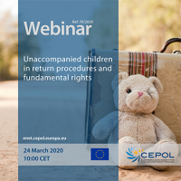 CEPOL Webinar 70/2020: Unaccompanied children in return procedures and fundamental rights