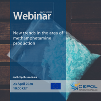 CEPOL Webinar 11/2020: New trends in the area of methamphetamine production