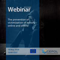 CEPOL CEPOL Webinar 41/2020: The prevention of victimization of minors - online and offline