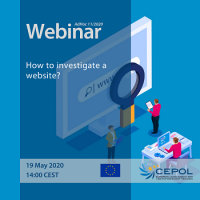 CEPOL Webinar AdHoc 11/2020: How to investigate a website?