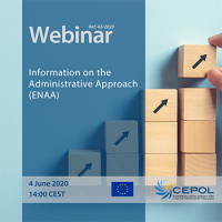 CEPOL Webinar 42/2020: Information on the Administrative Approach (ENAA)