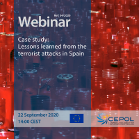 Webinar 54/2020: Case study - 'Lessons learned from the terrorist attacks in Spain'