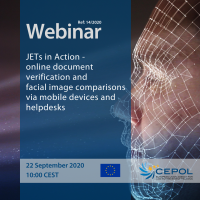Webinar 14/2020: JETs in Action -  online document verification and facial image comparisons via mobile devices and helpdesks
