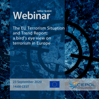CEPOL Webinar AdHoc16: The EU Terrorism Situation and Trend Report: a bird's eye view on terrorism in Europe