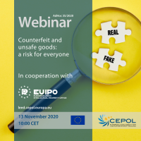 Webinar AdHoc 35/2020: Counterfeit and unsafe goods - A risk for everyone