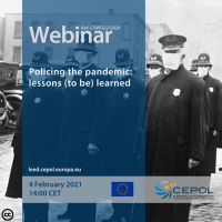 Webinar COVID 22/2020: Policing the pandemic - lessons (to be) learned