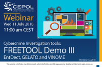Webinar 32/2018 Cybercrime Investigation tools: FREETOOL Demo III