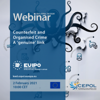 Webinar AdHoc 36/2020: Counterfeit and organised crime - A 'genuine' link'