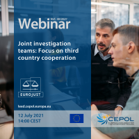 Webinar 40/2021: Joint investigation teams - Focus on third country cooperation