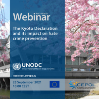 Webinar 43/2021: The Kyoto Declaration and its impact on hate crime prevention