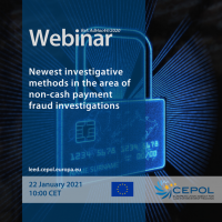 Webinar AdHoc 44/2020: Newest investigative methods in the area of non-cash payment fraud investigations