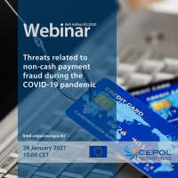 Webinar AdHoc 45/2020: Threats related to non-cash payment fraud during the COVID-19 pandemic