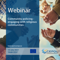 Webinar 51/2021: Community policing - engaging with religious communities