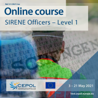 Online Course 51/2021: SIRENE Officers - level 1