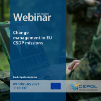 Webinar 56/2021: Change management in EU CSDP Missions