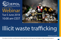 webinar 6/2018 Illicit waste trafficking