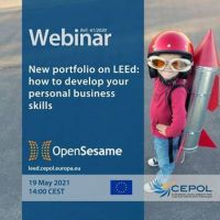 Webinar 61/2021: New portfolio on LEEd: how to develop your personal business
