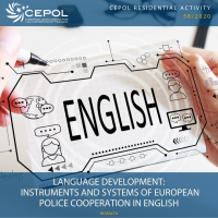 CEPOL 58/2020: Language development - Instruments and systems of European police cooperation in English (2nd)