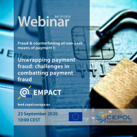 Webinar 07/2020: Unwrapping payment fraud: challenges in combating payment fraud