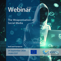 CEPOL Webinar 49/2020: The weaponisation of social media