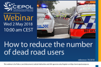 'How to reduce the number of dead road users'