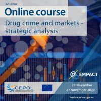 Online Course 13/2020: Drug crime and markets - strategic analysis