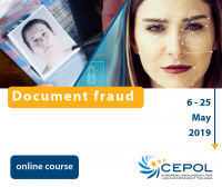 CEPOL Online Course 10/2019: Document fraud
