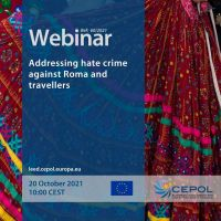 Webinar 60/2021: Addressing hate crime against Roma and travellers