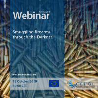 CEPOL Webinar: Smuggling firearms through the Darknet