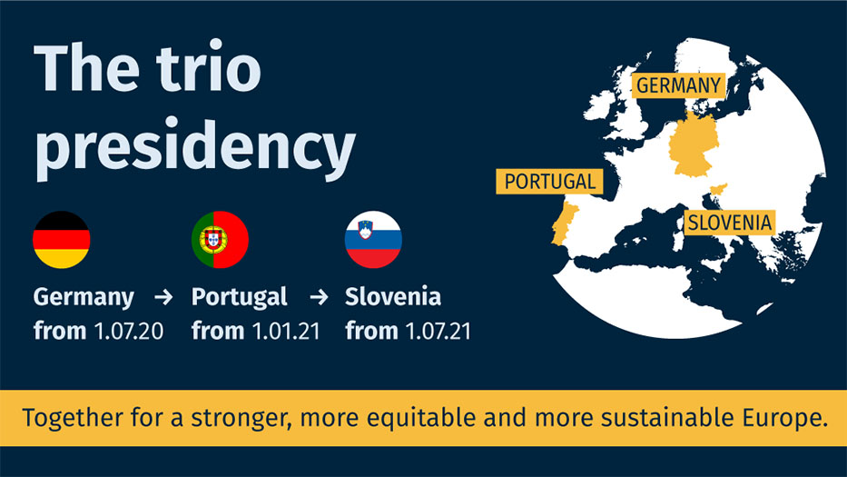 Germany's presidency of the Council of the EU - Trio programme