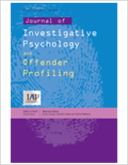 Title: Journal of Investigative Psychology and Offender Profiling; Author/Editor: David Canter